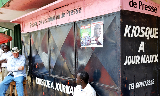 Guinea's media holds 'press-free day' over shooting of journalist in clashes